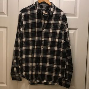 Eddie Bauer plaid long sleeve shirt